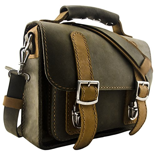 Carver & Fast Compact Messenger Bag (Everglade Green)