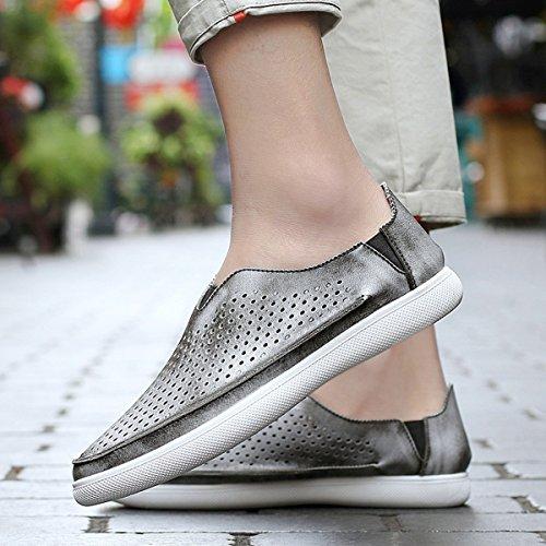Miyoopark - zapatilla baja hombre Style2-Grey