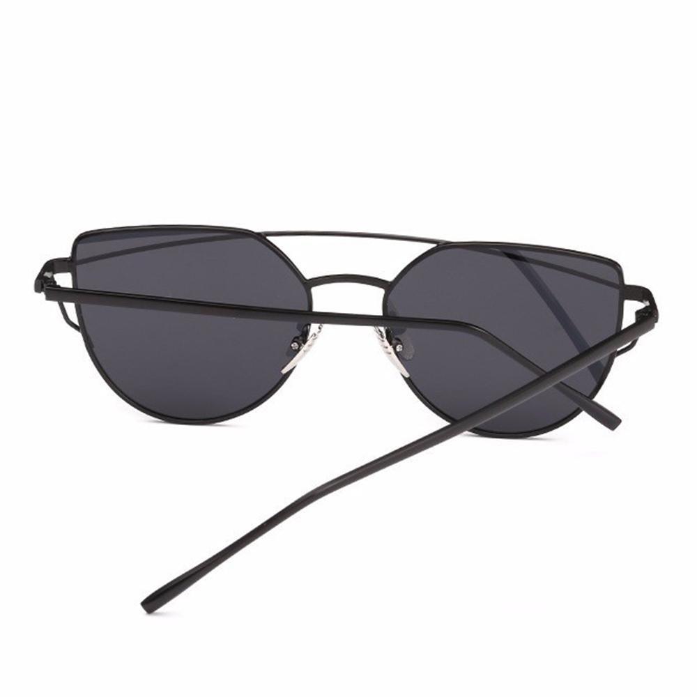 Gafas de Sol Cateye con viajes portátiles Zipper funda de los vidrios para  mujeres 748586674583