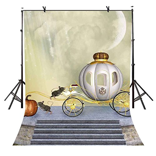 VVM 5x7ft Fairy Tales Backdrops Cartoon FatTonny Backdrop for Princess Fantasy Ball Party Accessory TMVV116 ()