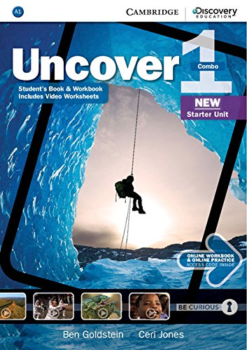 Uncover Level 1 Full Combo with Online Workbook and Online Practice