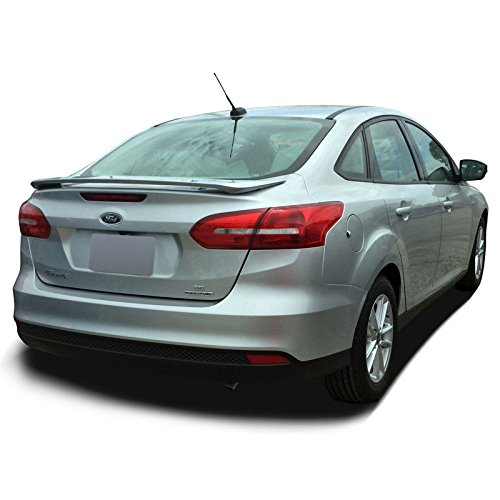 (Dawn Enterprises FOCUS15-PED Factory Style Pedestal Spoiler Compatible with Ford Focus - Magnetic Metallic)
