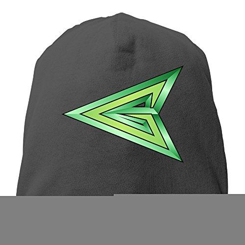 YUVIA Green Arrow Men's&Women's Patch Beanie Mountain ClimbingBlack Cap Hat For Autumn And Winter (Teen Green Ranger Bodysuit Costume)