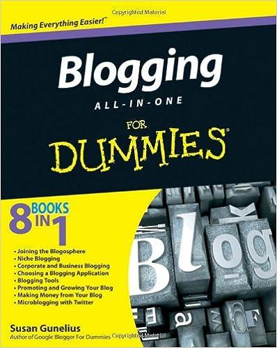Blogging All-in-One For Dummies: Susan Gunelius