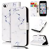 White Case for iPhone 5/5S/SE,Sunroyal Luxury White Marble - Best Reviews Guide