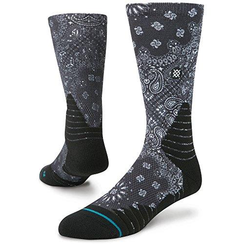 Stance Sock Calze Nightstick Fusion Basketball Black M559C16NIG-BLK