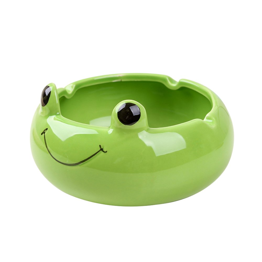 FLYING BALLOON Cute Animals Shaped Ceramics Storage Boxes Ashtray for Man by FLYING BALLOON