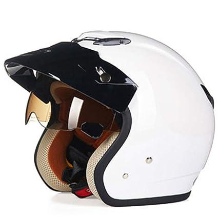 GTYW, Casco De Motocicleta, Casco Retro, Medio Casco De Motocicleta Eléctrica, Parasol