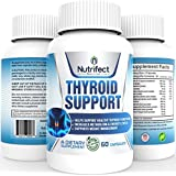 Premium Thyroid Supplements - Complete Formula to Help Weight Loss & Improve Energy with Iodine, Bladderwrack, Kelp, B12 & More. Best Thyroid Support for Hypothyroidism & Armour Thyroid