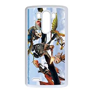 Personalized Durable Cases LG G3 Cell Phone Case White How to train your dragon Hgnle Protection Cover