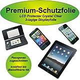 Premium-Schutzfolie - kratzfest bis H4! - crystal clear - Nintendo DSi - 3-lagig! - kristallklar - Display Schutzfolie - Displayschutzfolie