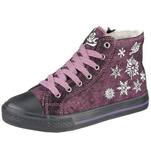 Lico Free High 180060, Mädchen Sneaker Violett (Lila-Silber)