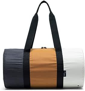 Herschel Supply Co. Packable Duffel Reflective Black/Buckthorn Brown/Overcast One Size