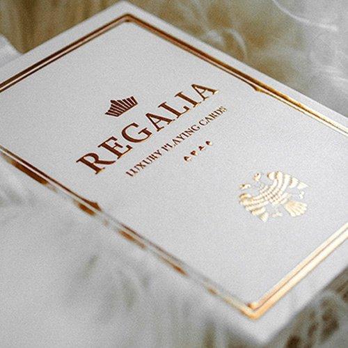 Shin Lim Regalia Deck (Bianco) - Mazzo di Carte