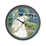 CafePress - Bridge/Arabian horse (w) Wall Clock - Unique Decorative 10'' Wall Clock
