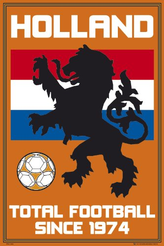 Holland National Soccer Team Poster