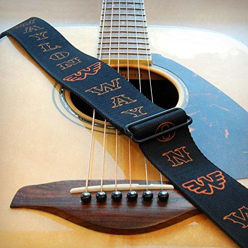 (Waylon Jennings Guitar Strap)