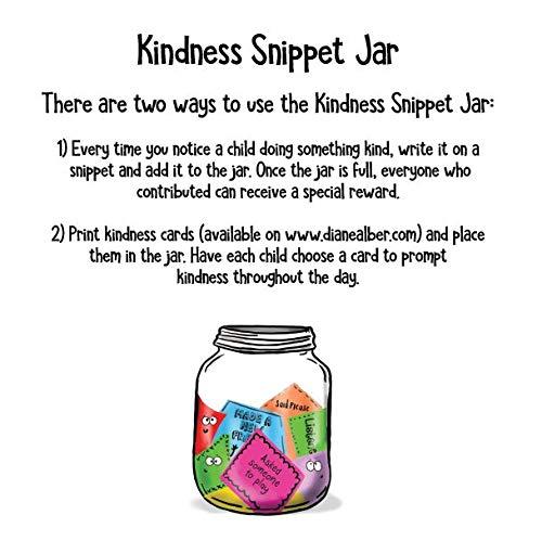 Kindness Snippet Jar Alber Diane Alber Diane 9781733852623 Amazon Com Books