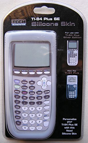 White Silicone Calculator Skin (Fits TI-84 Plus and TI-84 Plus SE) Photo #1