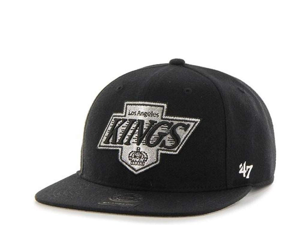 47Brand Los Angeles Kings Captain - Gorra, Color Negro: Amazon.es ...