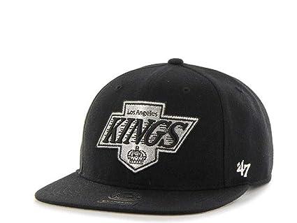47Brand Los Angeles Kings Captain - Gorra, Color Negro: Amazon.es ...