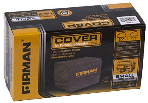 FIRMAN 1006 Black 1200 Watt Generator Cover