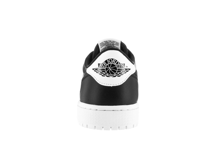 buy online 9b152 e7f6e Nike Jordan Mens Air Jordan 1 Retro Low Og Black White Basketball Shoe 8 Men