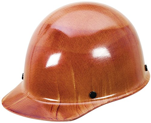 MSA 816651 Skullgard Protective Hard Hat Front Brim, Swing-Ratchet Suspension, Standard Size, Natural (Head Swing Guard)
