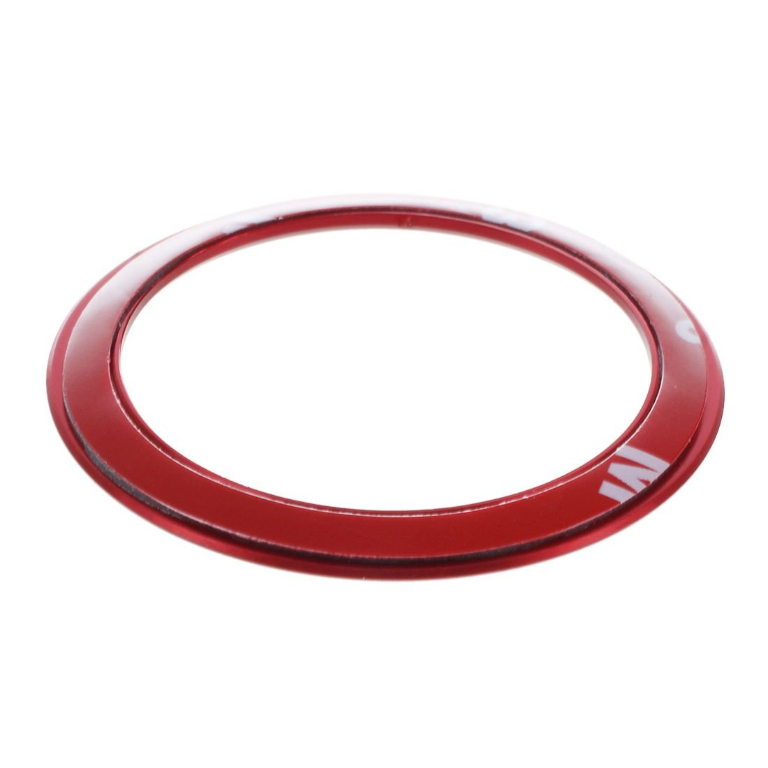 R TOOGOO For BMW E34 E30 E60 E36 E39 E46 E30 E60 E90 E92 F10 F30 F25 Ca Steering Wheel Circle Covers Interior Car Accessories Red