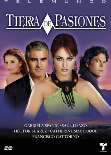 DVD : Tierra De Pasiones [Full Frame] [Sensormatic] [Checkpoint] (Full Frame, , Sensormatic, Checkpoint)
