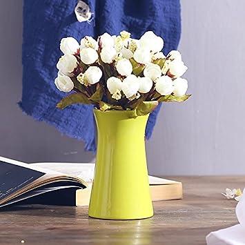mini - trompete vase, keramik, westlichen restaurant -, hotel ...