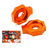 Motorcycle CNC Rear Axle Spindle Chain Adjuster Blocks for KTM DUKE 125 200 390 RC 125 200 390