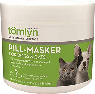 Tomlyn Products 079-427463 Pill-Masker Original for Cats & Dogs Bacon, 4 oz by Prime Pet Deals - Code 1