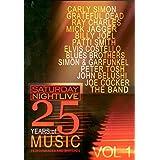 Saturday Night Live: 25 Years of Music Volume 1