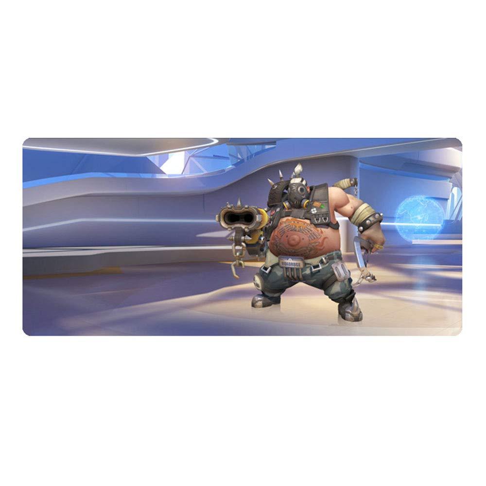 MAOYU Almohadilla para Mouse para Pioneer Juegos de Pioneer para Game Around Mike Rewinston semitibetano Soldier 76 con Costuras Acolchadas de Gran tamaño 900 x 400 x 3 mm a09747