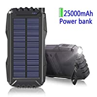 Solar Charger 25000mAh,WBPINE Power Bank...