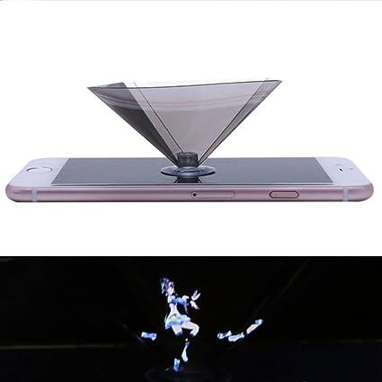 Amazon com: Rumfo Smartphone Hologram Projector, 3D Holo Box