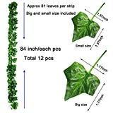 KASZOO 84Ft 12 Pack Artificial Ivy Garland Fake