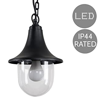more photos c4941 78752 Fisherman Lantern Lamp Style Black Outdoor Security IP44 Rated Hanging  Pendant