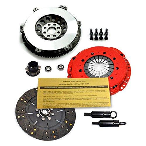 (EFT STAGE 2 RIGID CLUTCH KIT+RACE FLYWHEEL FOR BMW 323 325 328 M3 Z3 E36 M50 S50 S52)