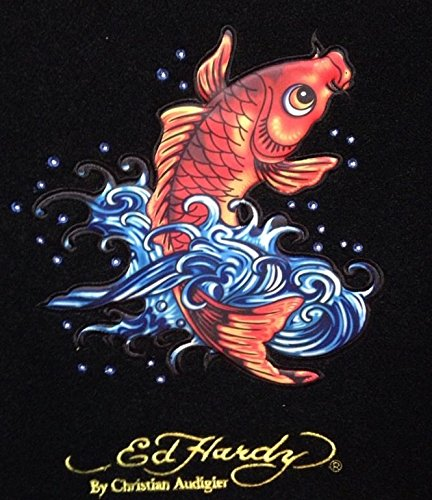 Ed Hardy Floor Mats with the Koi Fish Design