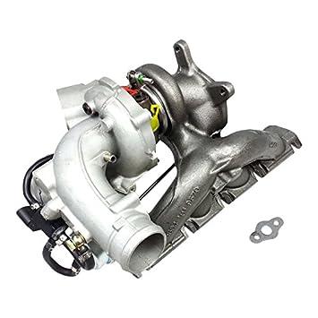 xs-power Turbo K04 - 064 + colector de escape para Audi S3 TT Volkswagen Golf 2.0 TFSI y 2.0 265hp 272 BHZ bwj: Amazon.es: Coche y moto