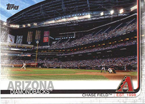 2019 Topps #521 Chase Field Arizona Diamondbacks Baseball Card