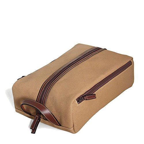 Jack Georges Canvas Shoe Bag Khaki by Jack Georges