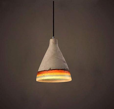 wfwt Vintage colgante lámpara colgante lámpara para E27 ...