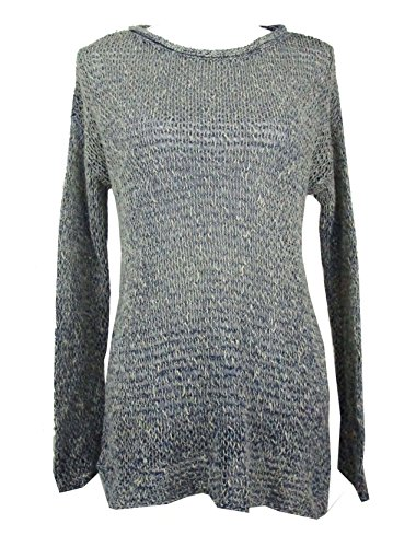 Denim & Supply Ralph Lauren Women's Open-Knit Sweater (Blue Multi, Large) by RALPH LAUREN