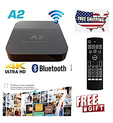 2018 A2+ 4K ULTRA HD TVBOX for Chinese/HongKong/Taiwan/Vietnam Best TVbox in the market