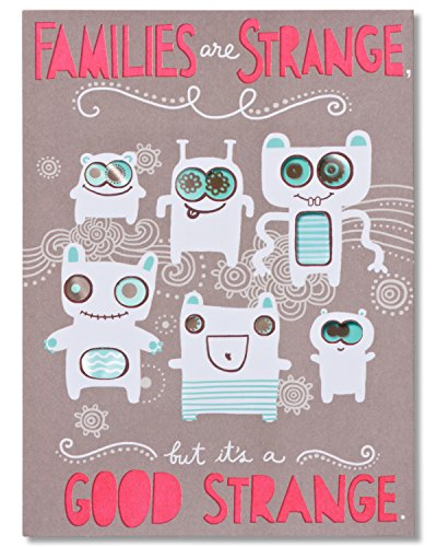 Family Birthday Card Amazon – Strange Birthday Card