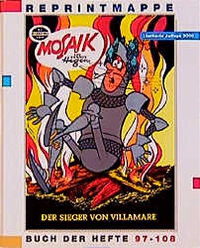Reprintmappe des Mosaik: Hefte 97-108 (Digedag) Spiralbindung – 2000 Hannes Hegen Lothar Dräger 3730214020 MAK_9783730214022