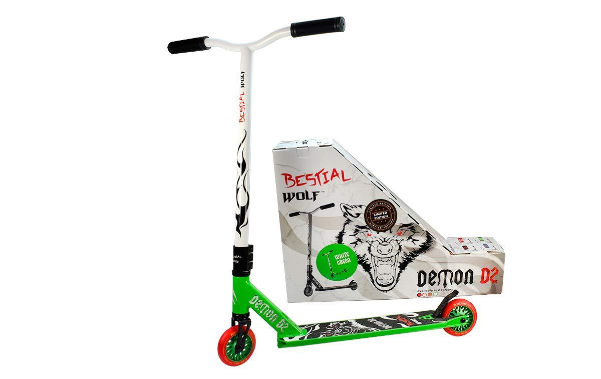 Bestial Wolf Demon D2 Edición Limitada UK, Scooter Freestyle ...